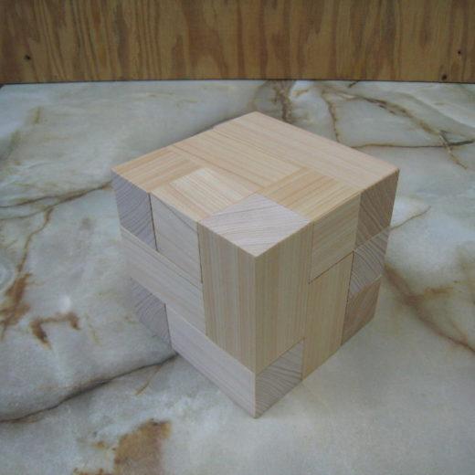 ニキーチン みんなの積み木(巾着袋付)(無塗装)